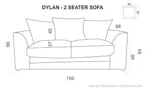 R Average Sofa Length Couch Dimensions Of 3 Double Size Blog Sectional Sofas  Three Cushion  2