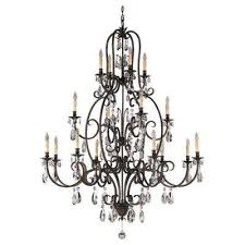 salon maison 16 light aged tortoise shell multi tier chandelier