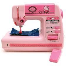 Pink Hello Kitty Sewing Machine