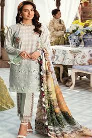 Pakistani Shalwar Kameez Design 2019 Pakistani Salwar Kameez Qalamkar Luxury Lawn Collection 2019 Dh 06