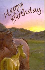 Image result for birthday horses