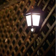 solar powered fence light solar motion detector garden lights led wall sconce waterproof solar motion detector