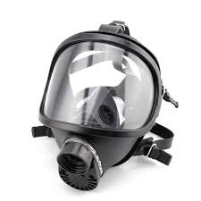mf14 full face gas mask large field for chemical spray paint single tank activated carbon