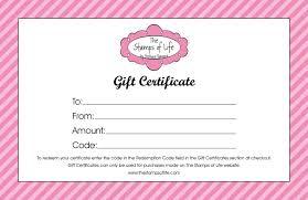 Gift Certificate Wording Sample Gift Certificate Wording Template Gift Certificate Template