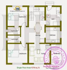 square house plans. Square Feet Box Type Exterior Home Kerala Design Floor Sq Ft 1000 Foot House Plans Modern