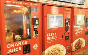Lunch Vending Machines Gorgeous Vending Machines In Singapore 48 Unusual Items You Can Buy