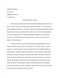 animal farm old major character analysis essay similar essays animal farm