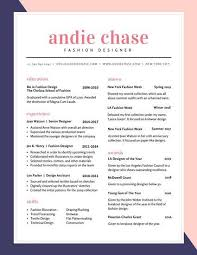 Colorful Resume Templates Extraordinary Blue And Pink Fashion Colorful Resume Resume Pinterest Template