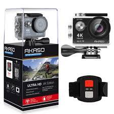 AKASO 4K <b>WIFI</b> Sports <b>Action Camera Ultra</b> HD <b>Waterproof</b> DV ...