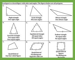 Classifying Polygons Fact Sheet Teaching The Lesson