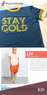 Lularoe Stay Gold Liv T