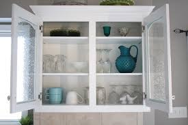 white color glass kitchen cabinet doors