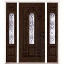 front door with sidelites68 x 82  Front Doors  Exterior Doors  The Home Depot