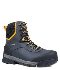 bogsmen s bedrock 8 composite toe insulated waterproof leather work boot