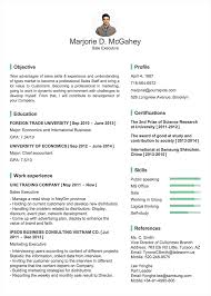 Professional Resume/cv Templates With Examples - Topcv.me