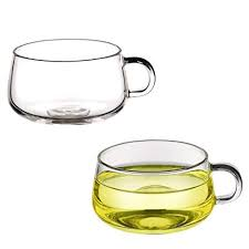 Transparent Glass Handle Coffee Cup, High Boron ... - Amazon.com