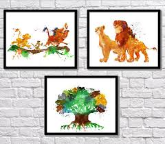 art art posters pumbaa the lion king