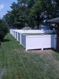 white privacy fence ideas. Cool 4 Ft White Vinyl Fencing Fences Ideas Privacy Fence