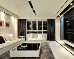 Types Of Curtains For Living Room 5 Types Popular Curtain Styles That Come In Black And White