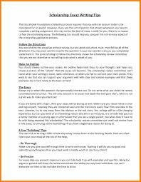 scholarship essay writing 9 good scholarship essays agile resumed