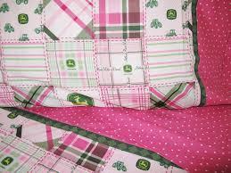 girl john deere fabric nursery girl toddler bedding by