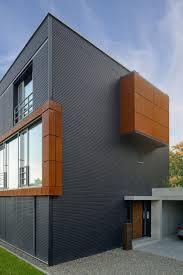 Architektur Detail Fassade Haus Pawliczec Von Baufritz Holzfassade