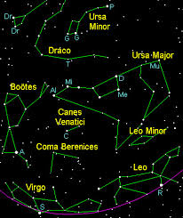 Spring Constellations In The Northern Hemisphere With Star Chart