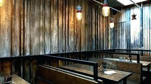 miraculous corrugated metal panels for interior walls in steel wall
