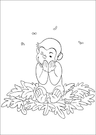 Curious George Coloring Pages Free Bestappsforkidscom
