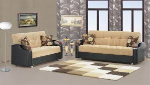 Living Room Furniture Color Beige Sofa Barryknoll Tufted Upholstered Settee Console Table