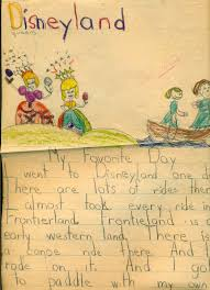 gold country girls my illustrated childhood essay on disneyland apparently we were asked to write about our favorite day does it surprise anyone that my favorite day was at disneyland i thought not