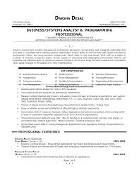 It Analyst Resumes It Business Analyst Resume Samples Business Analyst Resume Examples
