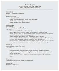 Resume For Cooks Magnificent Sample Resume For Chef Position Popular Chef Resume Sample