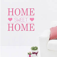 Small Picture Home Sweet Home Wall Sticker modern quote wall sticker