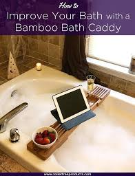 bamboo bathtub caddy ideas on how a bath can improve your bath experience umbra aquala expandable