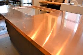 Copper Kitchen Countertops A Home In The Making Renovate Copper Counters Kitchen Lights