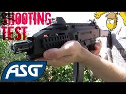 asg cz scorpion evo 3a1 shooting test