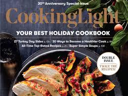 Cooking Light Magazine Cancel Subscription November 2017 Recipe Index Cooking Light Cooking Light