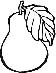 Pears coloring sheets to print and color 019. Free Printable Fruit Coloring Pages For Kids