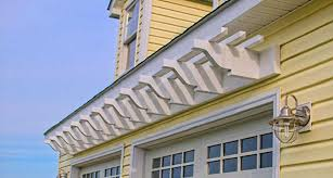 wall mounted fiberglass wall pergola kit over double garage doors residential home design