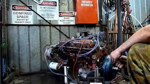 hq holden v engine run no hq holden 253 v8 engine run no2