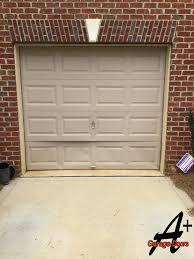 garage door dent repairCharlotte Garage Door Repair of Door Hit By Car Residential
