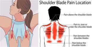Pain in my back shoulder blade