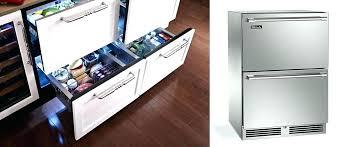 undercounter beverage refrigerator outdoor cabinet drawers glass door