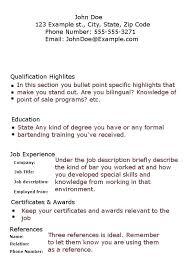 bartending resume template waitress resume sample skills bartender resume  no experience template resume examples skills and