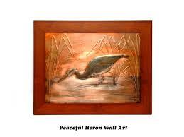 peaceful heron