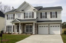 Color Scheme Light Gray Siding White Garage Doors And Trim Gray Light Gray Siding