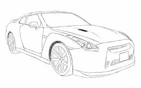 Gtr R35 Coloring Pages