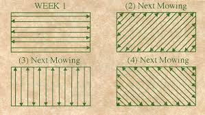 Mowing Patterns Best Mow Lawns In Alternating Patterns To Avoid Ruts And Keep A Level