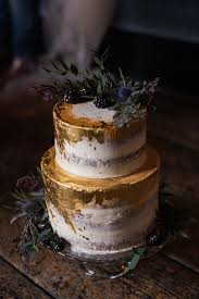 Metallic Gold Wedding Cake Ideas With Greenery Oh Best Day Ever